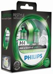 Auto��rovky H4 12V Zelen� design ColorVision Green Philips