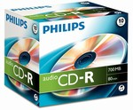 CD-R Audio Silver 700MB/80min Philips