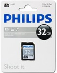 SD karta 32GB class 10 FM32SD45B/10 Philips