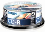 Philips CD-R 700MB 52X 25 box 80min.