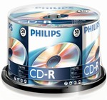 Philips CD-R 700MB 52x box 50ks