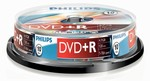 Philips DVD+R 4,7 GB 16X box 10ks