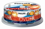 Philips DVD+R 4,7 GB 16X box 25ks