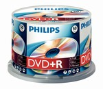 Philips DVD+R 4,7 GB 16X box 50ks