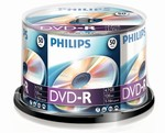 Philips DVD-R 4,7 GB 16X box 50ks