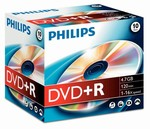 Philips DVD+R 4,7 GB 16X box