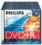 Philips DVD+R 4,7 GB 16X slim