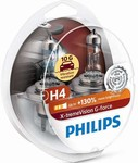 Philips X-tremeVision G-force 12342XVGS2 H4 P43t-38 12V 60/55W