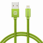 SWISSTEN kabel USB/lightning 1,2m zelený iPhone