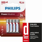 Baterie AAA Power Alkaline LR03 Philips