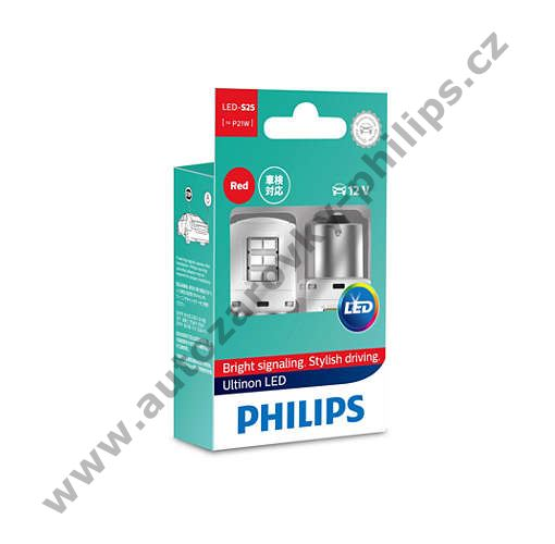 Philips Ultinon Led 11498ULRX2 PR21W BA15s 12V 2,7W