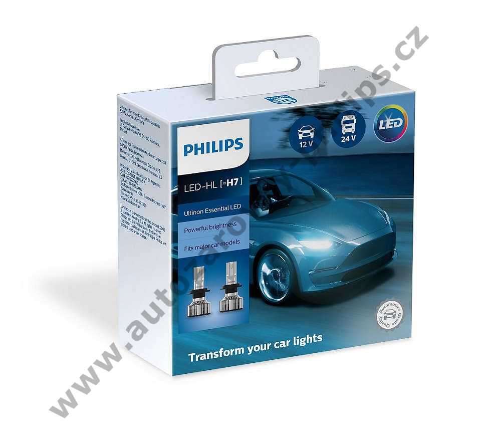 Philips Led H7 Ultinon Essential 11972UE2X2