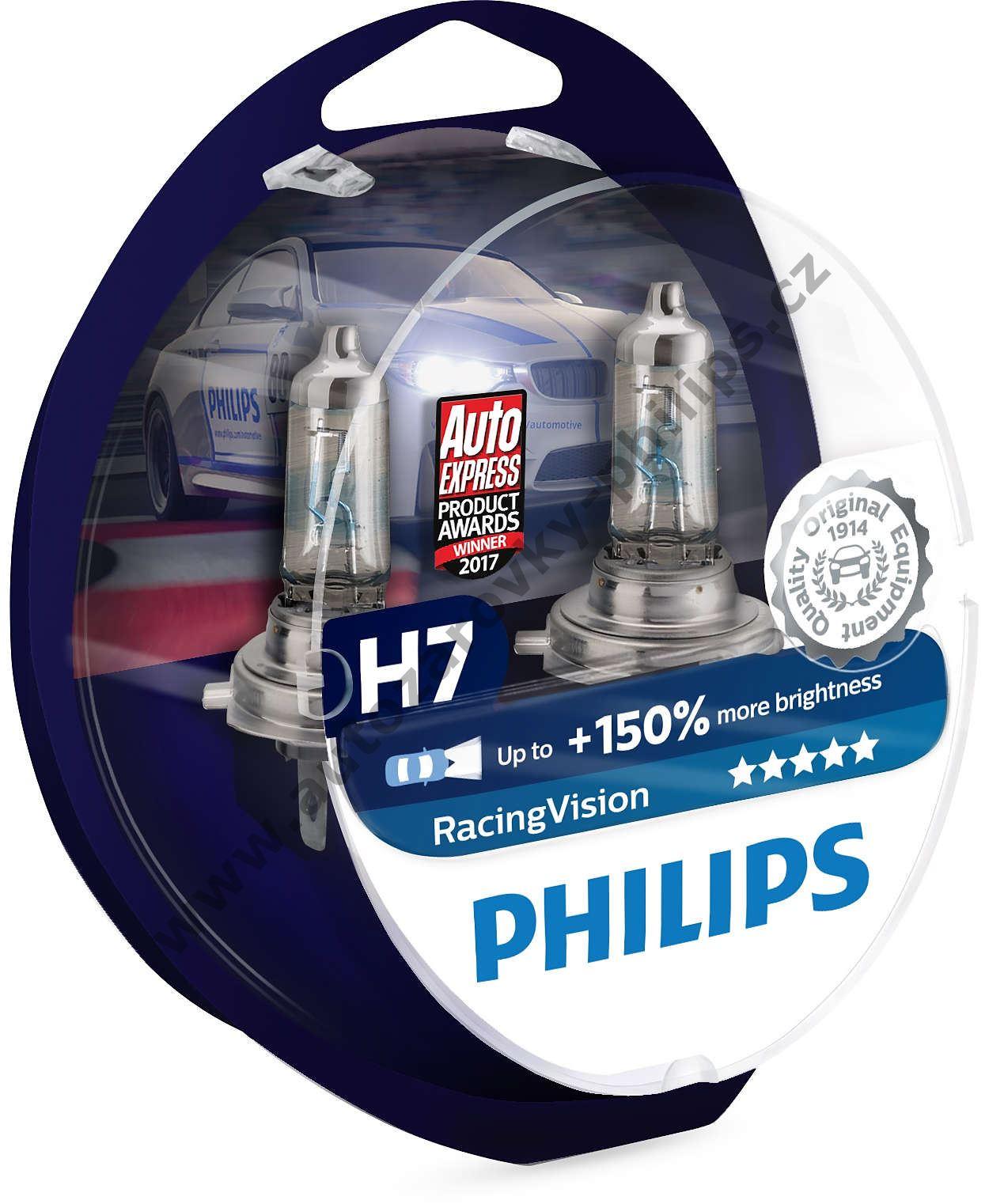 philips racingvision 12972rvs2 h7 px26d 12v 55w. Black Bedroom Furniture Sets. Home Design Ideas