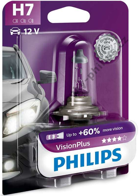 Philips VisionPlus H7 12972VPS2