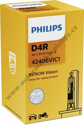 Xenony D4R 42V 35W Standard Philips
