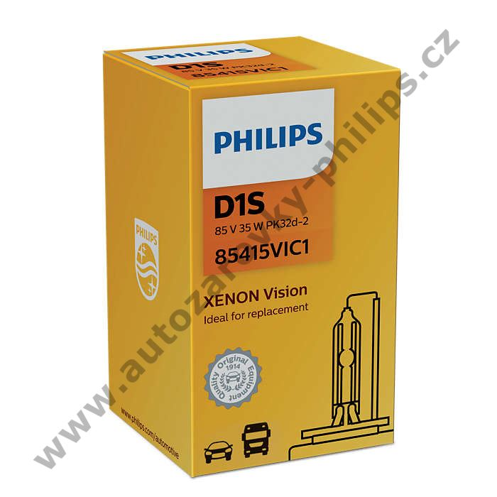 Xenony D1S 85V 35W Vision Philips